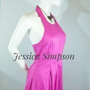 Jessica Simpson Pink Halter Dress Size 4